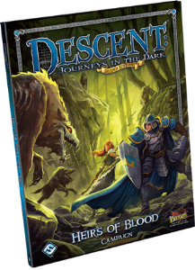 Descent : Journeys in the Dark (second Edition) - Heirs of Blood Campaign